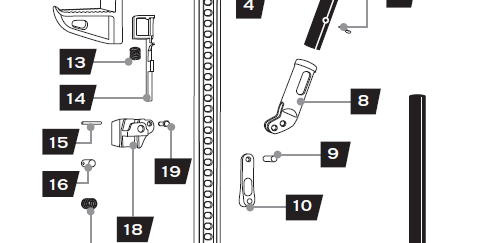 Hi-Lift Parts Diagram